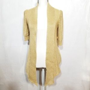 Moth Anthropologie Open front Cardigan (17-061)